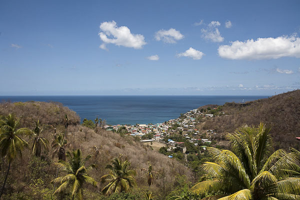 Saint Lucia, panorama su Canaries