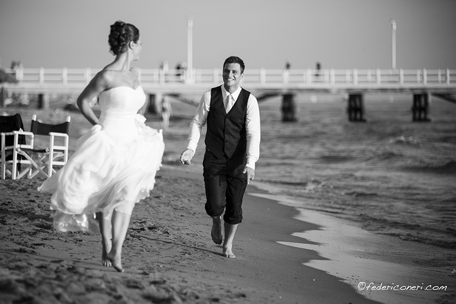Wedding photographer in Forte dei Marmi, Tuscany